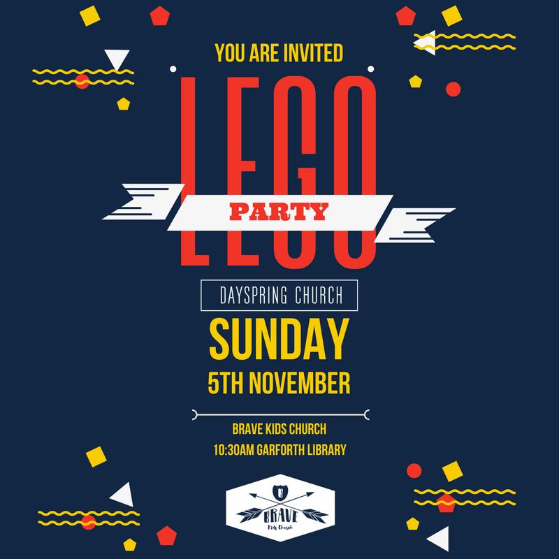 BRAVE Lego Party